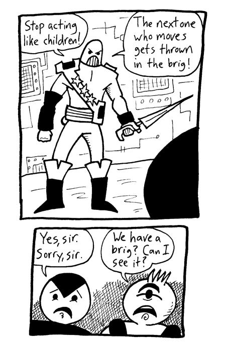 Lancer Intrudes