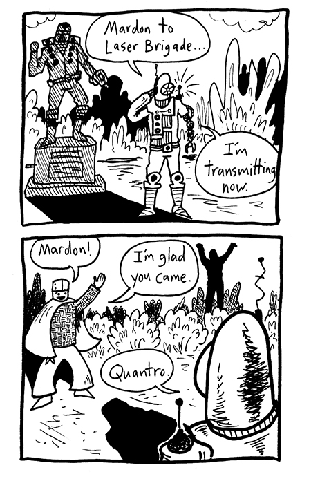 Meeting at the Statue