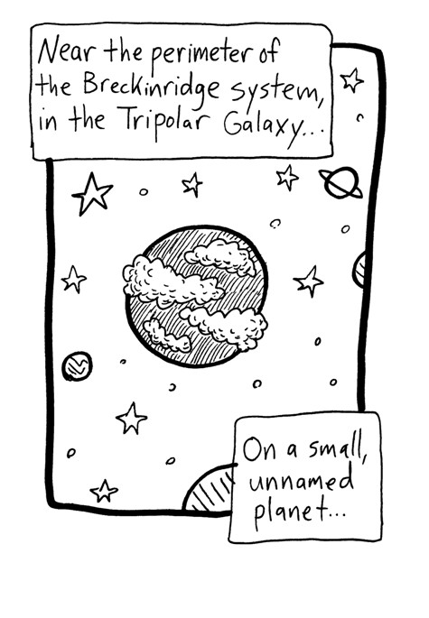 A Small, Unnamed Planet