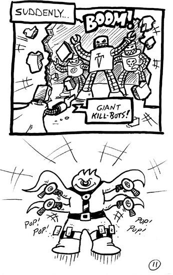 Giant Kill-Bots!