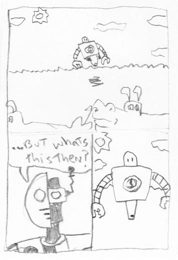 Suddenly--A Robot!